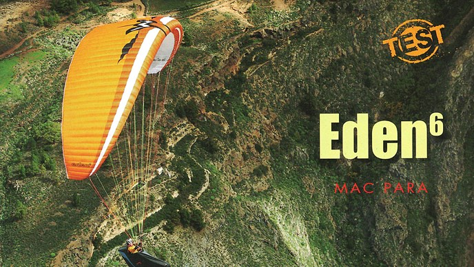 Eden 6 - Top Be - Parapente