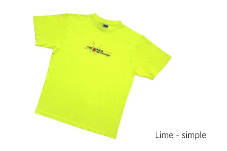 Male T-Shirt simple - Lime