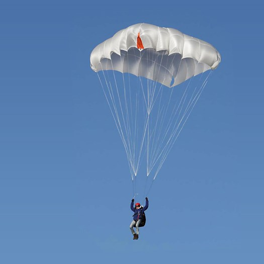 Houston  - Modern steerable square rescue parachute