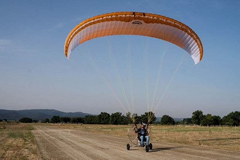 CHARGER - Easy reflex paraglider fo paramotor flying