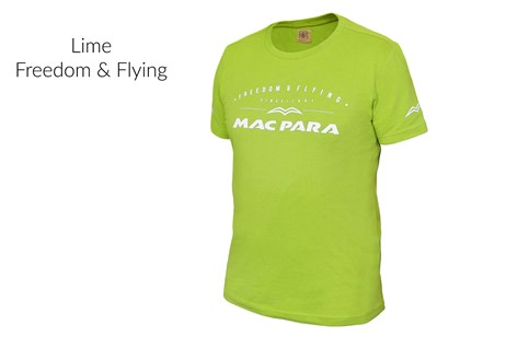 T-Shirt - Lime - Freedom & Flying