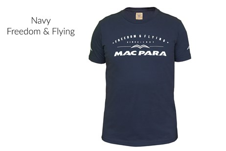 T-Shirt - Navy - Freedom & Flying